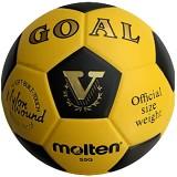 MOLTEN #5 Size 5 [S5G-GOAL] - Yellow - Bola Sepak / Soccer Ball